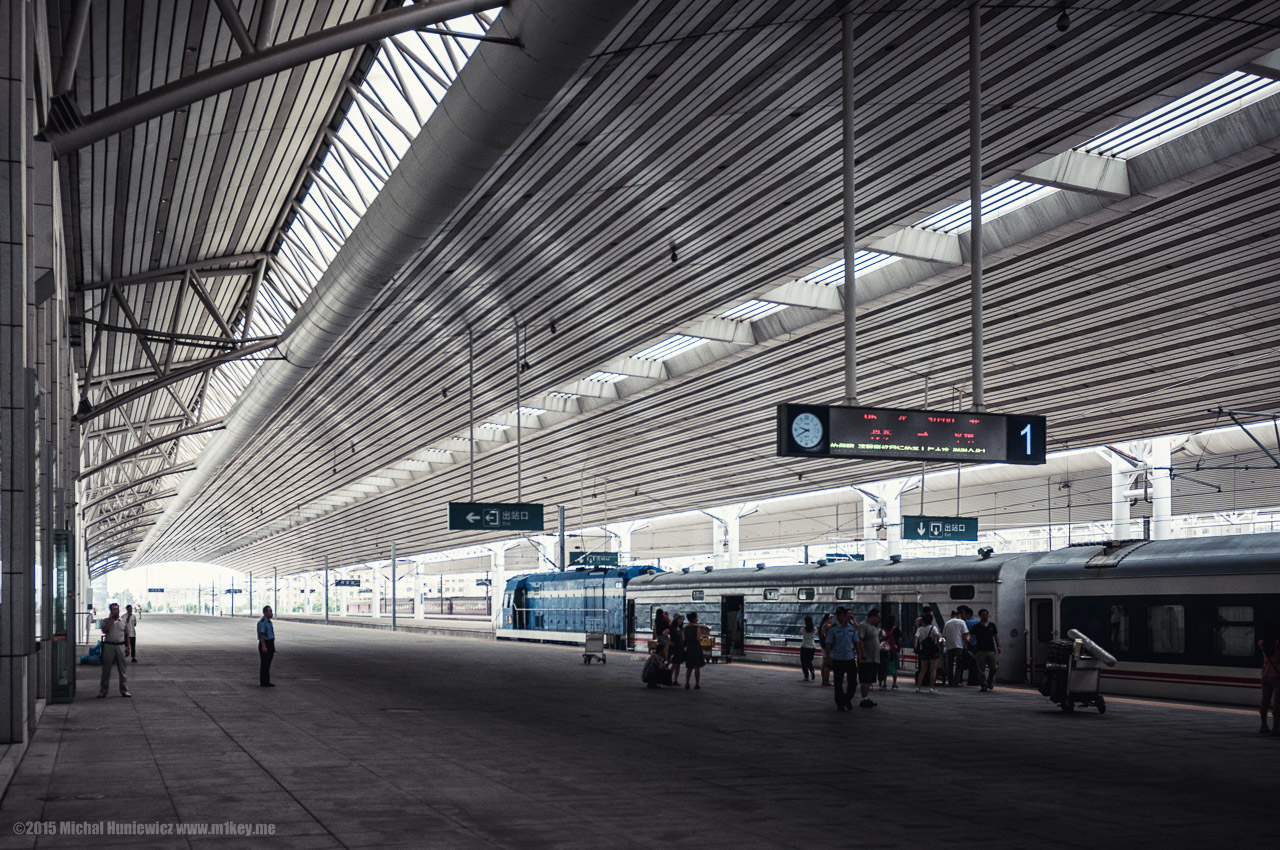 Dandong Railway Station